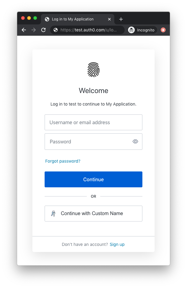 Custom OAuth2 Connection with a custom icon and name