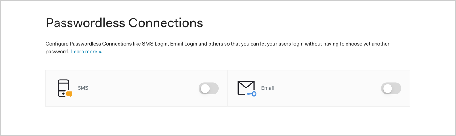 Enable Email Passwordless