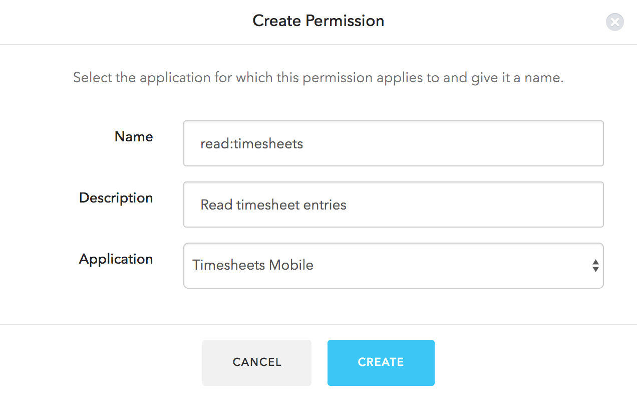 Create Permission
