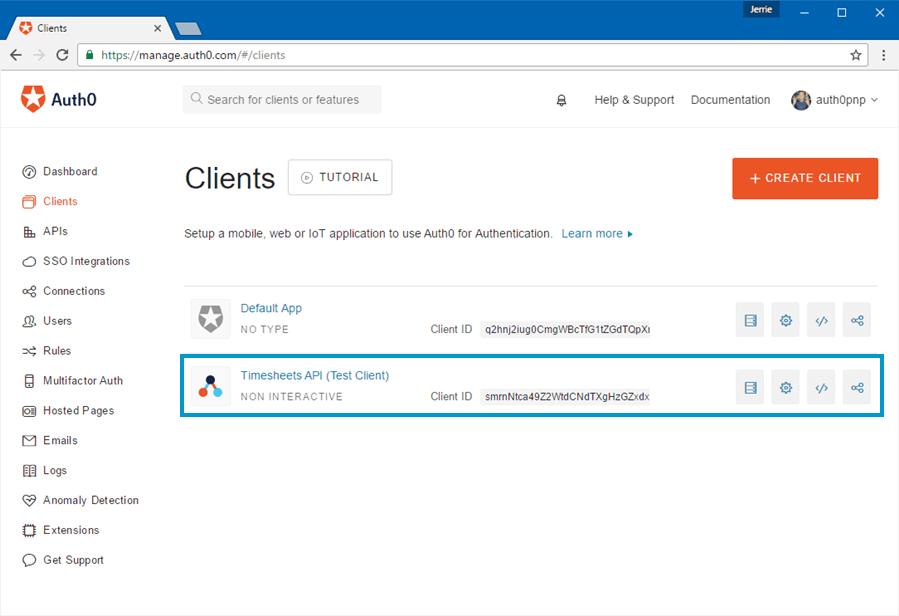 Non Interactive Client