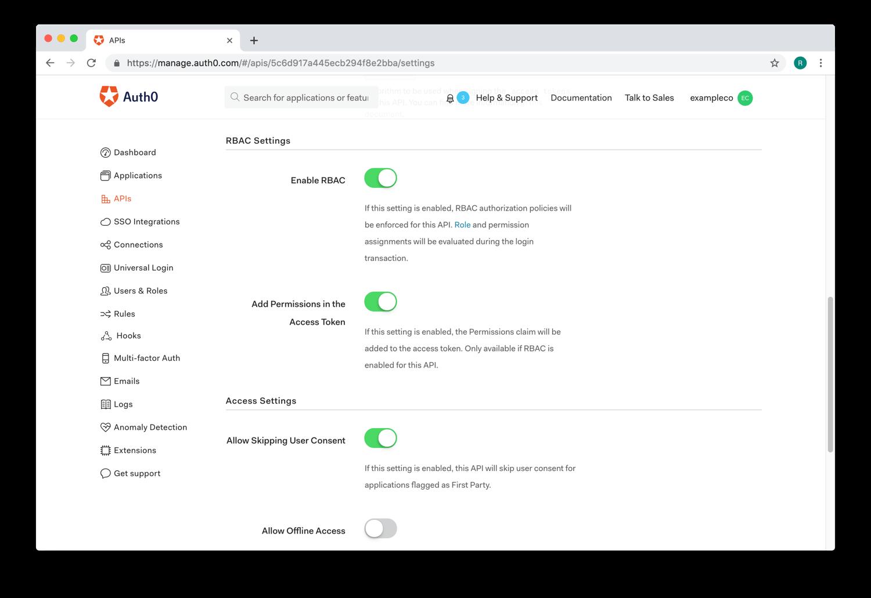 View APIs