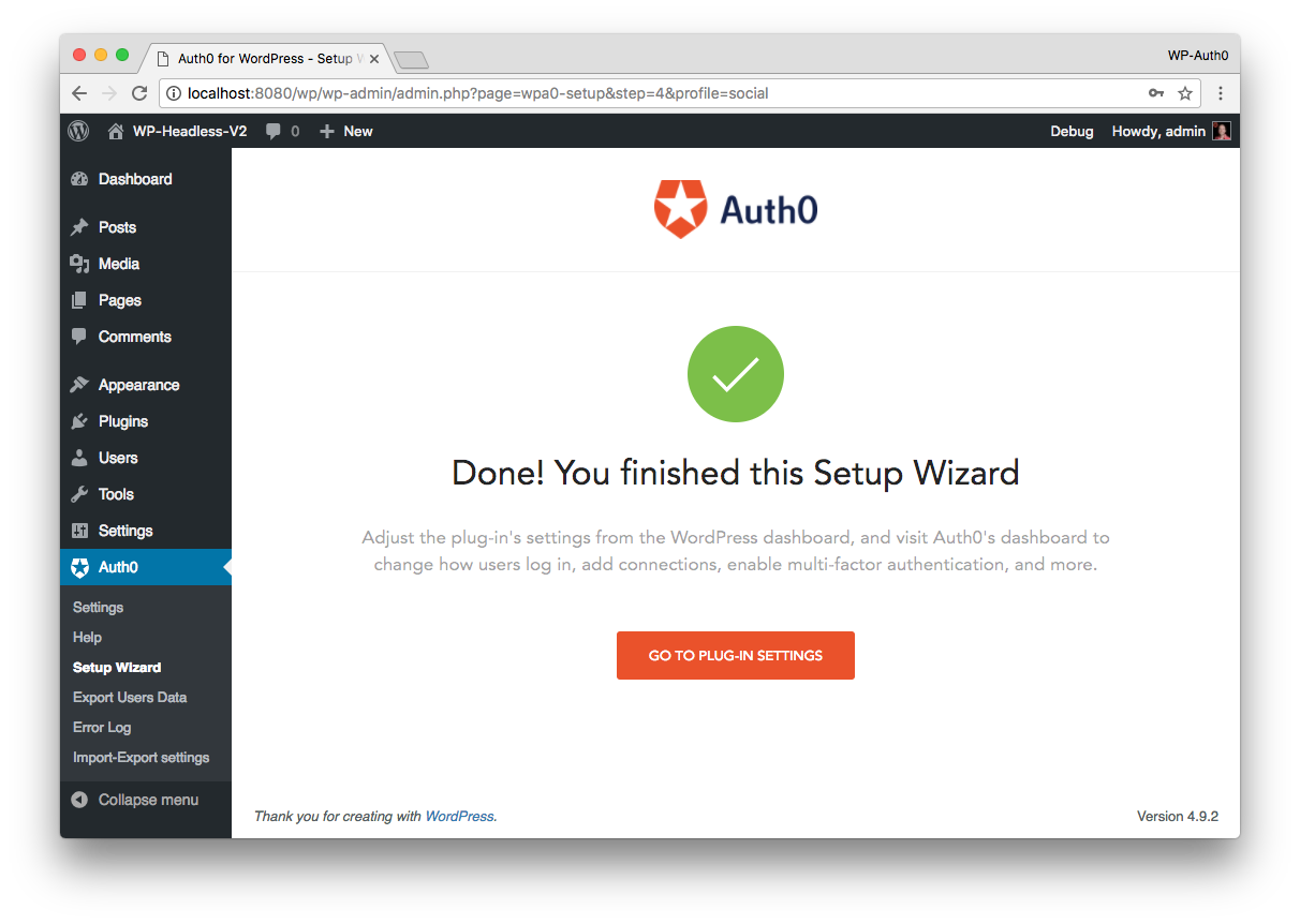 WordPress-Auth0 Plugin Banner