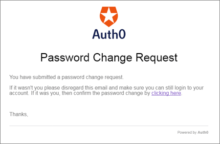Changing a User\'s Password