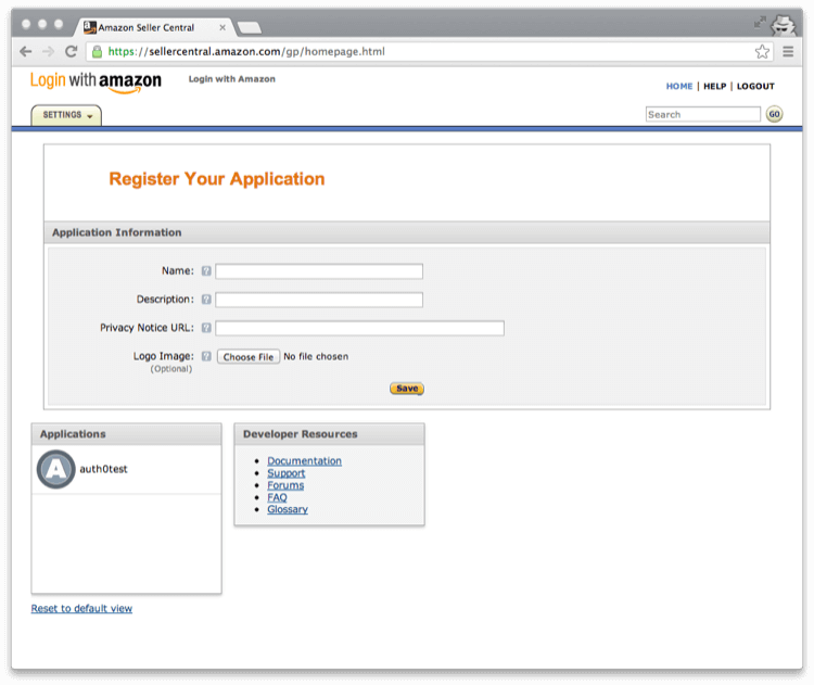 Connect your app to Amazon
