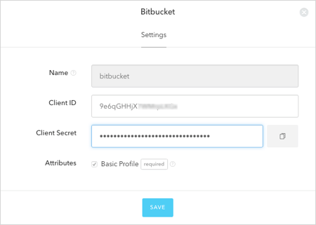 Connect your App to Bitbucket