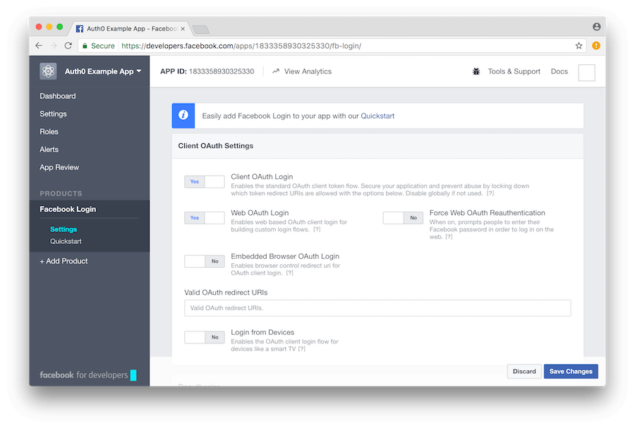 Facebook external login setup in ASPNET Core  Microsoft Docs