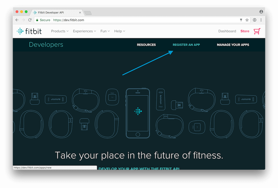 Connect your app to Fitbit
