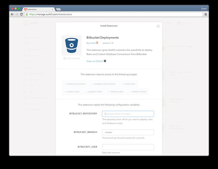Bitbucket Deployments