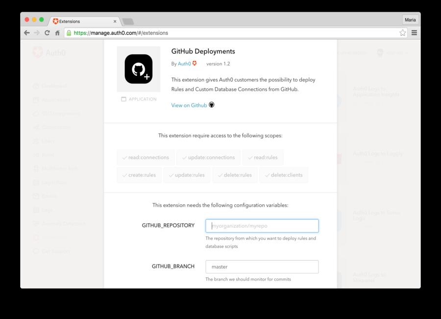 GitHub Deployments