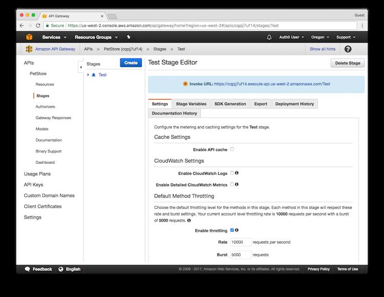 AWS API Gateway Tutorial, Part 2: Import and Deploy the API Gateway API