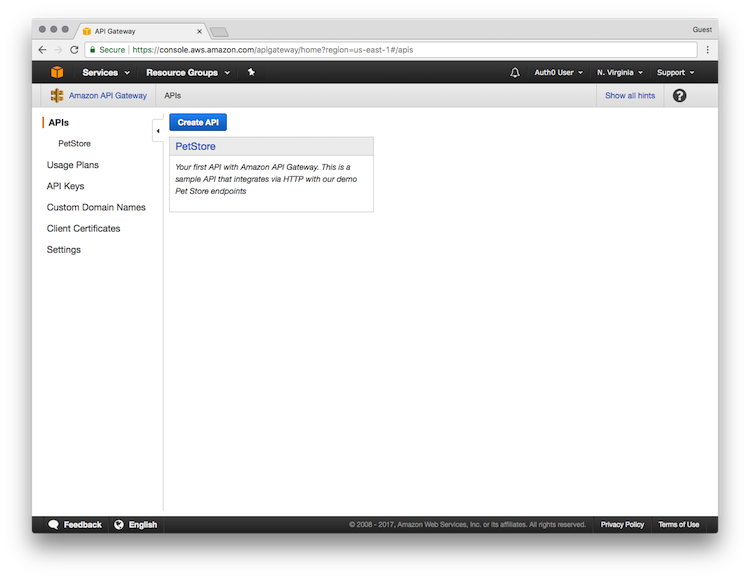 AWS API Gateway Tutorial, Part 4: Secure the API Using Custom
