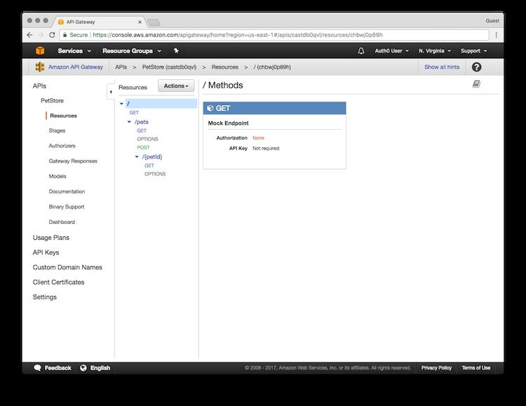 AWS API Gateway Tutorial, Part 4: Secure the API Using