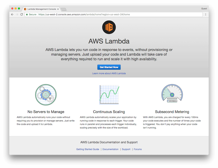 Get Started with Lambda
