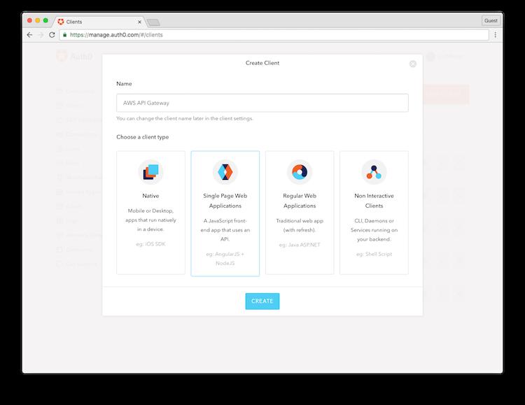 Create Client