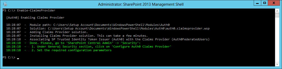 Claims Provider for SharePoint