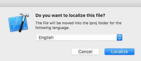 xcode localizable