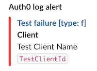 Stream Auth0 Log Events to Slack
