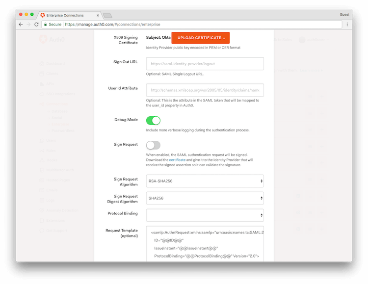 Troubleshooting SAML when Auth0 is the Service Provider