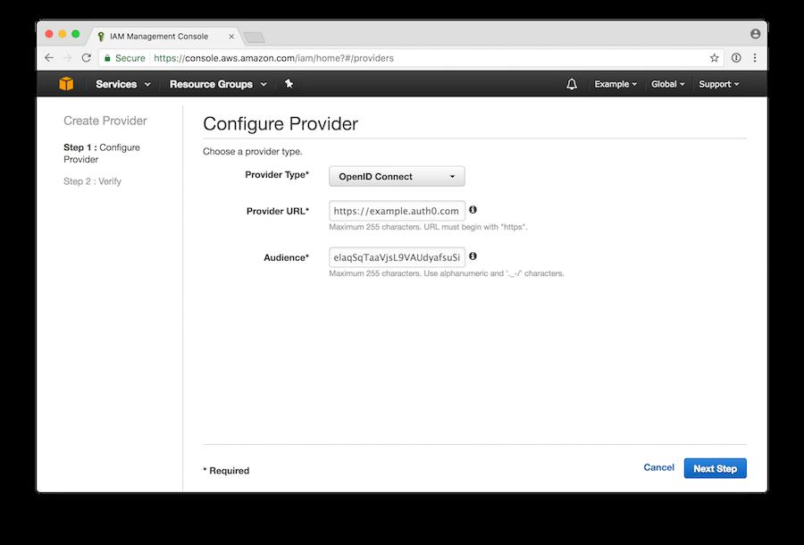 Configure Provider
