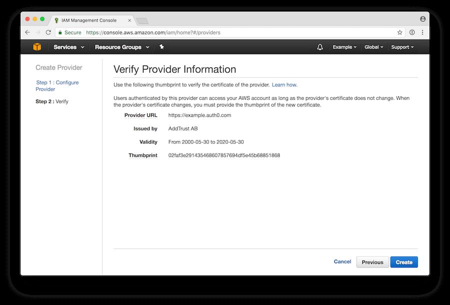 Verify Provider