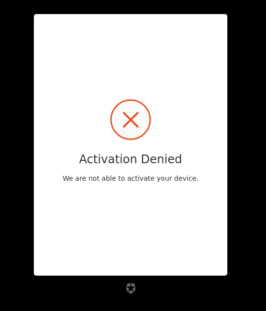 device-code-activation-denied reference screenshot