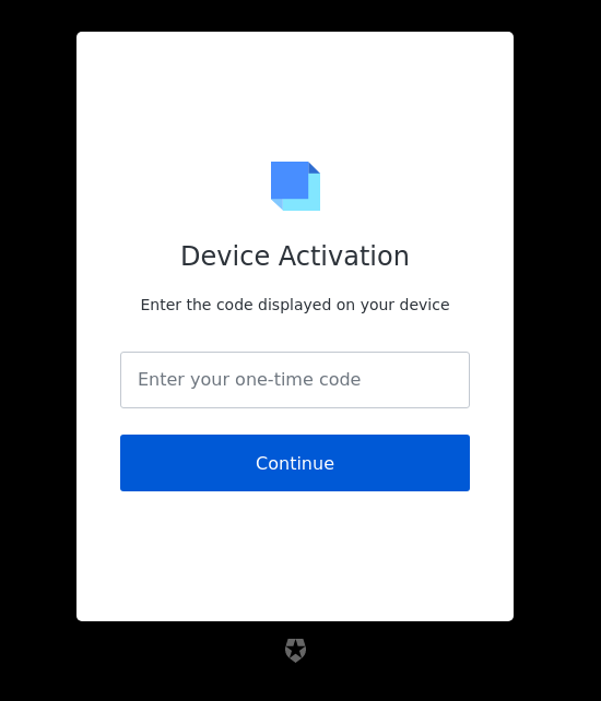 device-code-activation reference screenshot
