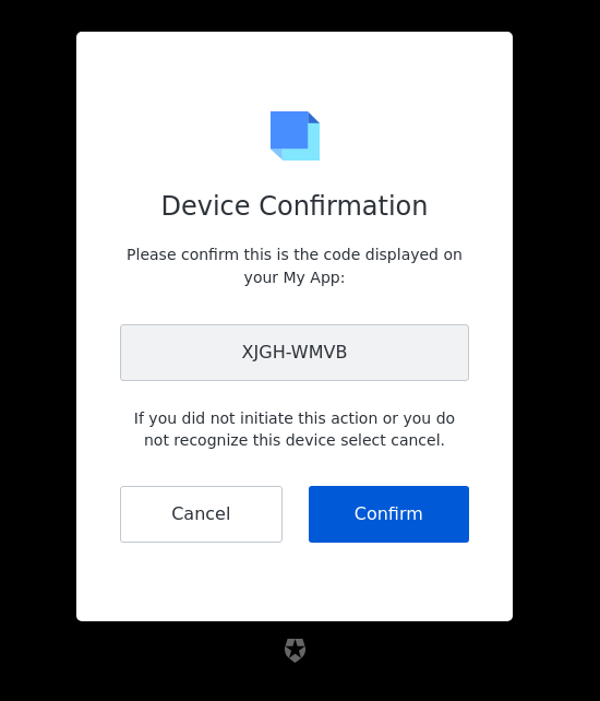 device-code-confirmation reference screenshot